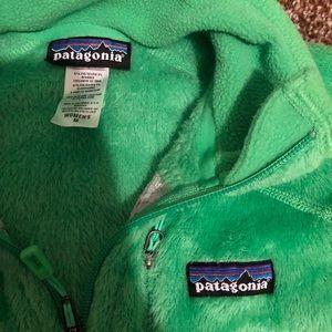 🖤Patagonia Green Zip-Up Jacket Size M